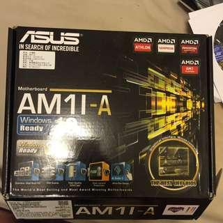 Am1 四核文書機 板子+CPU