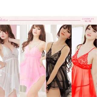 [全新]透明睡裙超性感情趣內衣 【BRAND NEW】Transparent nightgown super sexy lingerie