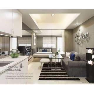 3.4M affordable 1 Bedroom with Balcony condominium unit @ Grass Residences, Quezon City