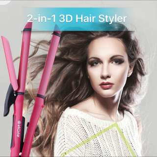 2-in-1 3D Transformable Hair Styler