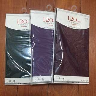 全新 120丹 MIT 糖果色彩褲襪