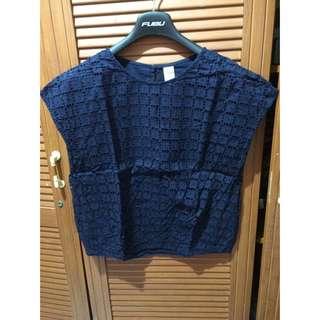 blouse dark blue