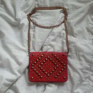 Red Ardene Bag