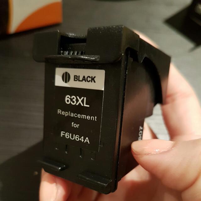 3 Packs Of Ink Cartridges For HP Printer