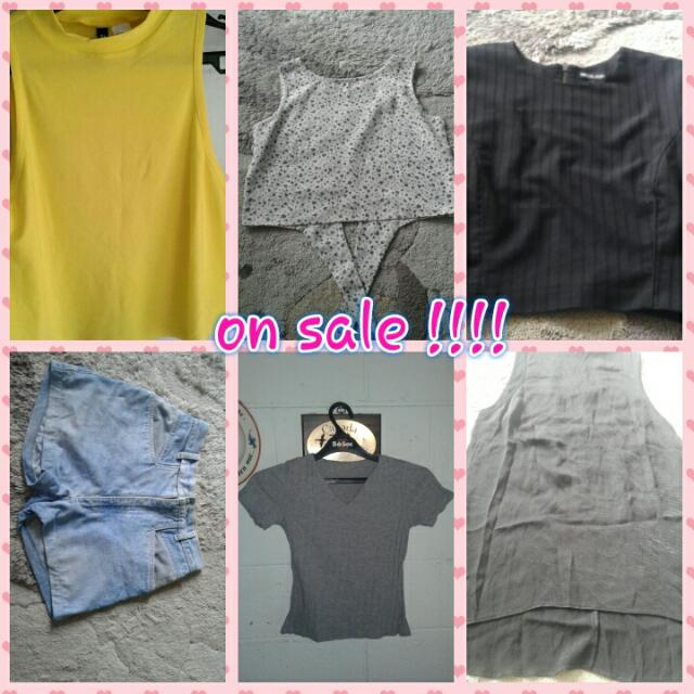 6 Branded Preloved Items On Sale !!!