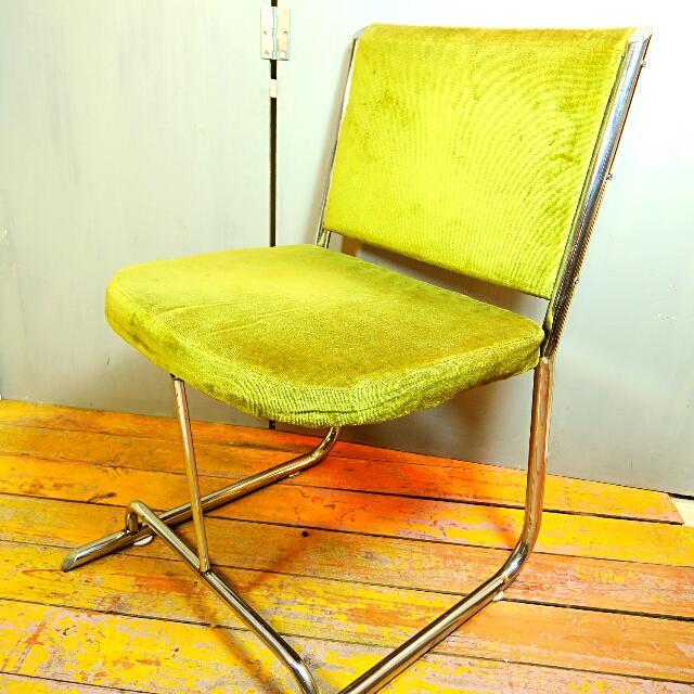 免運費 - 不銹鋼老鐵椅/古董椅 工業風/普普風