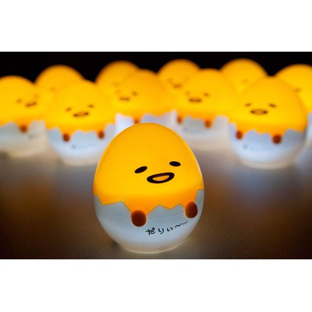 日本 蛋黃哥 造型 可愛 小夜燈 裝飾燈 生日禮物 聖誕 交換 禮物 情人節禮物