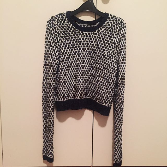 Abercrombie & Fitch Cropped Knit