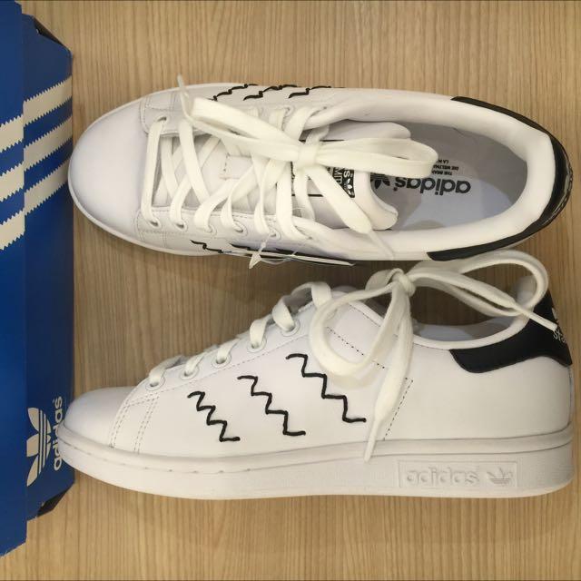 Adidas Stan Smith 繡線 23cm / US6
