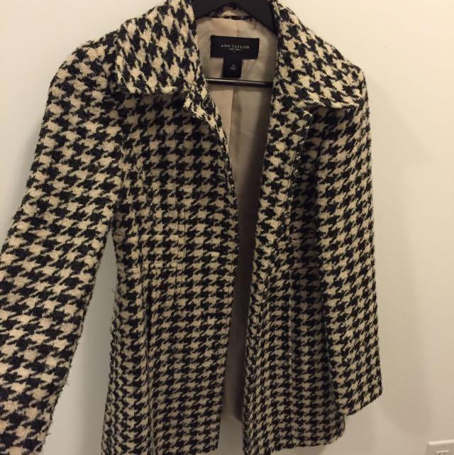 Ann Taylor Tweed Coat