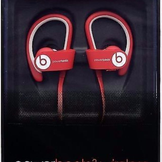 431496f0c6e 45% DISCOUNT! BRAND NEW Beats Powerbeats 2 Wireless Red, Electronics ...