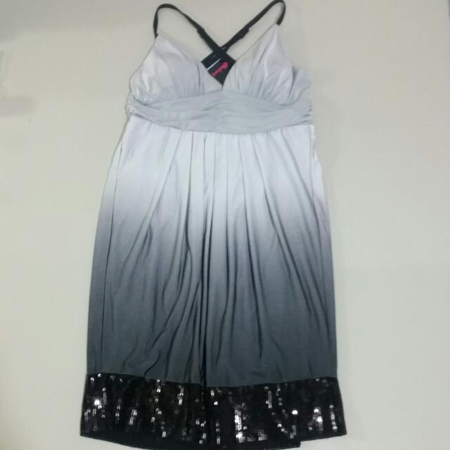 Blockout Ombre Sequin Dress Size Large***