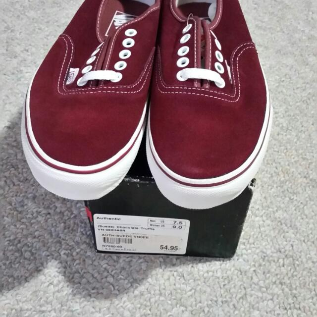 BNIB Vans Shoes
