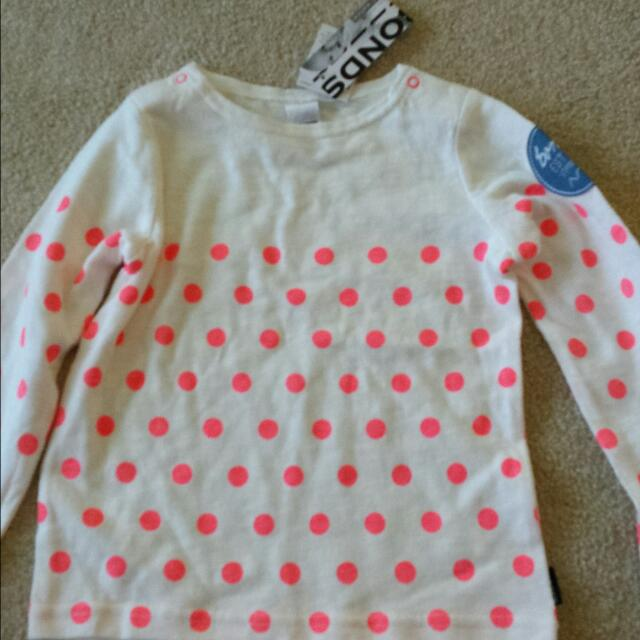 Bonds Girls Top Size 2