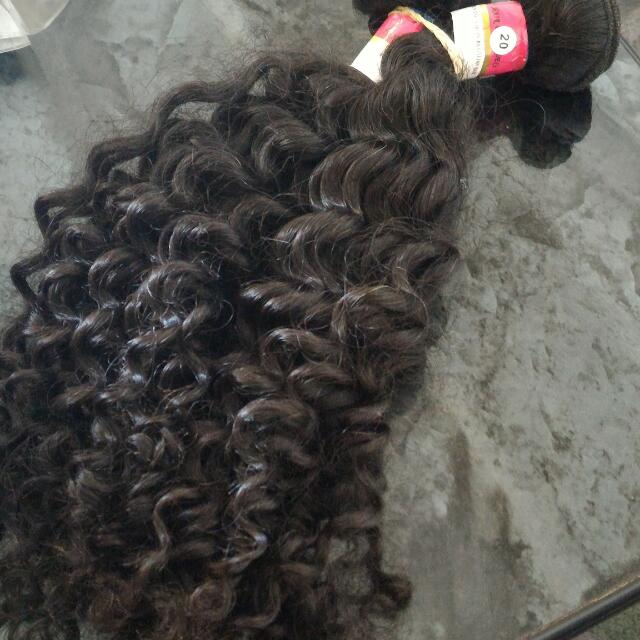 BRAND NEW 100% AUTHENTIC BRAZILIAN CURLY HAIR