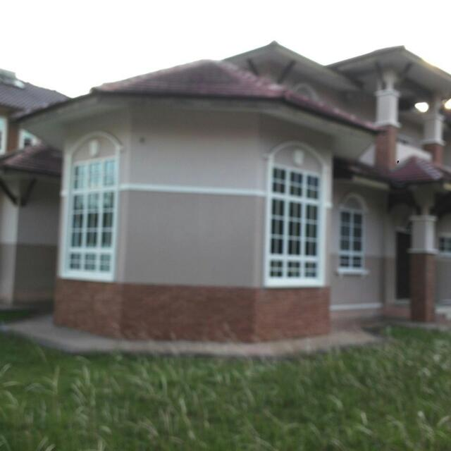Bunglow House At Puncak Meru Over 10000 Sqt Tingkat Atas 4 Bilik 3 Air Bath 1 Ruang Tamu Ground Floor 2 Makan Dry Kitchen Keep