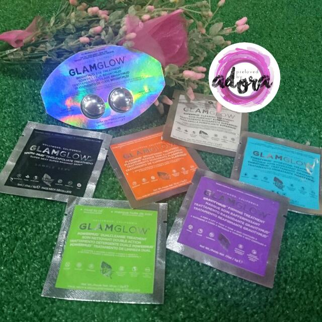 BUY 10 GET 1 FREE PROMO - GlamGlow Sample Size ALL VARIANT