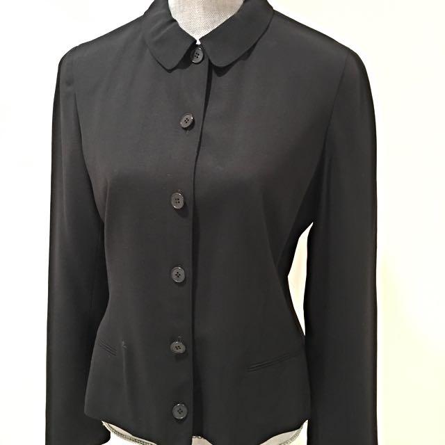 Calvin Klein Lined Blazer, Size 10