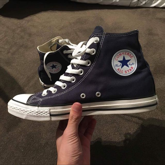 Converse Chuck Taylor All Star Hi Top Shoe In Navy