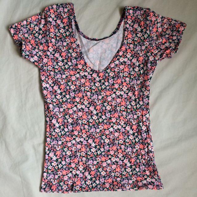 Cute Floral Shirt