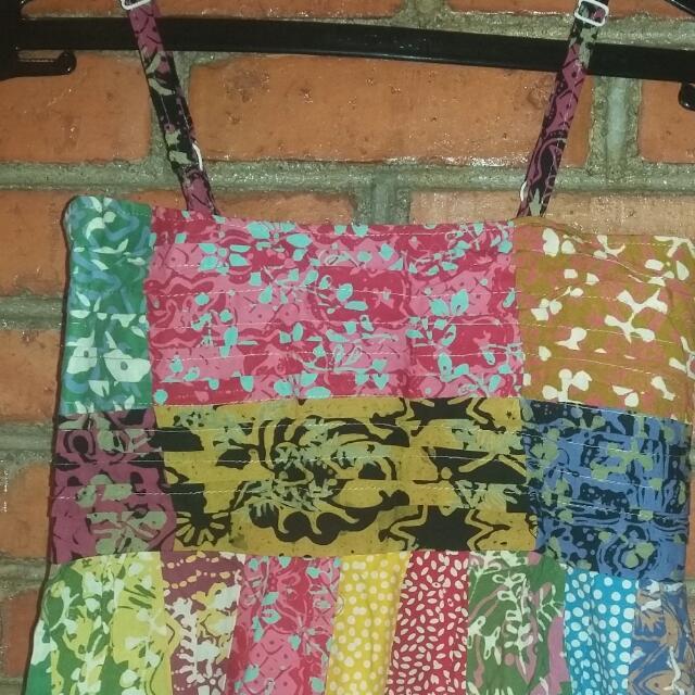 Dress Batik Campur