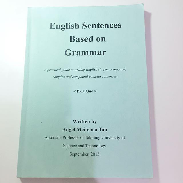 English Sentences Based on Grammar 1