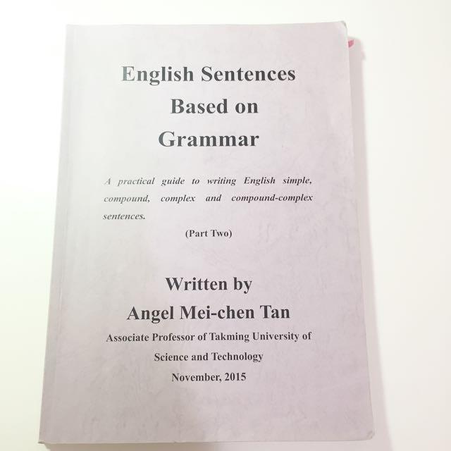 English Sentences Based on Grammar 2