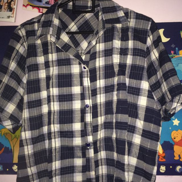Flanel Navy