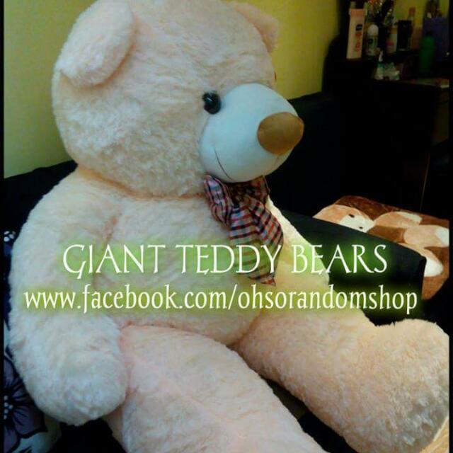 GIANT TEDDY BEARS
