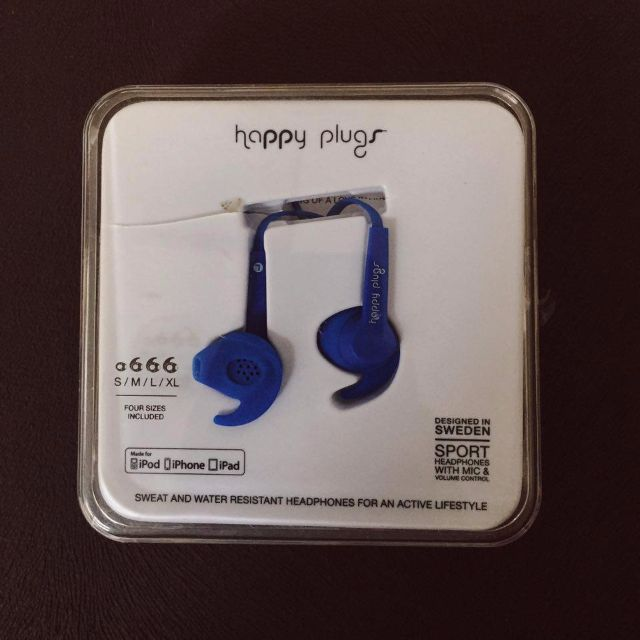 Happy Plugs Sport Earphone COBALT