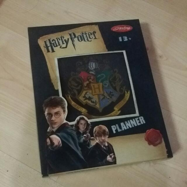 Harry Potter Yearless Planner (Can Be Used Any Year/Time You Want)