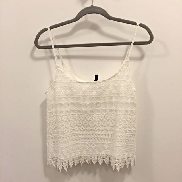 H&M Crochet Tank