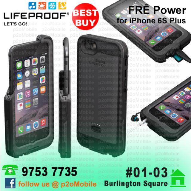 super popular 4902d f571a (iPhone 6S Plus) LifeProof FRĒ Power for iPhone 6S Plus   iPhone 6 Plus