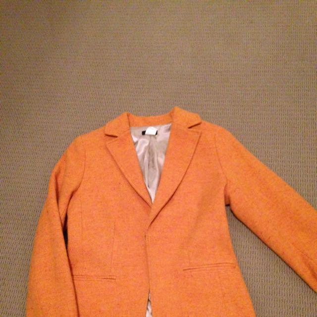 J Crew Wool Blazer Size 2( Us )