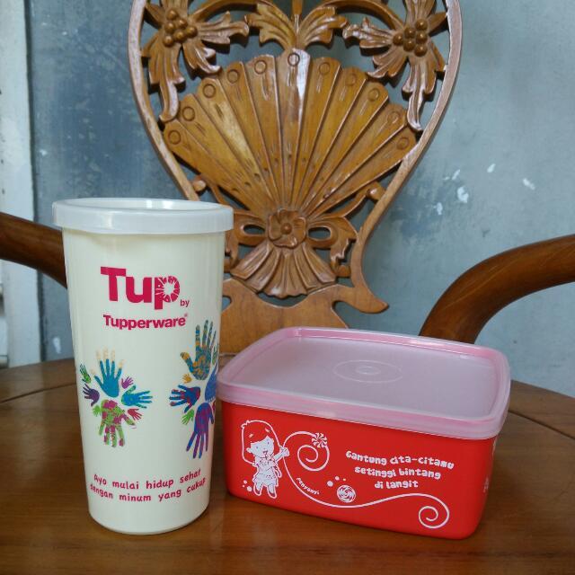 Kids Set Lunch Tupperware ORI