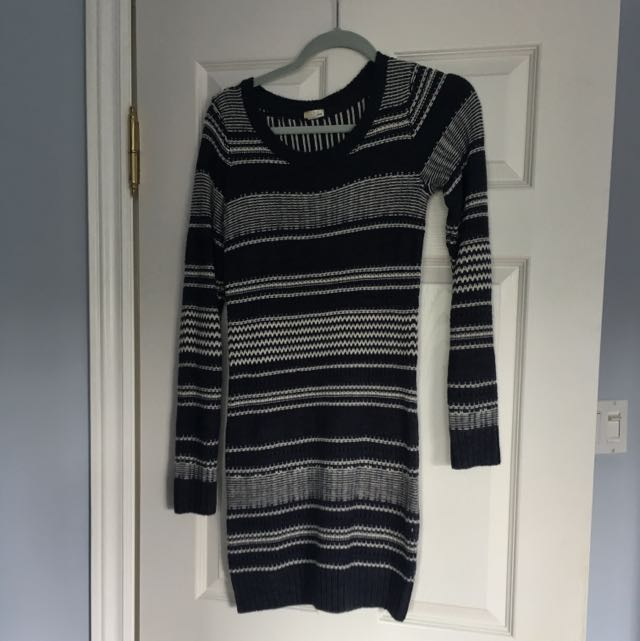 Knit Garage Sweater Dress