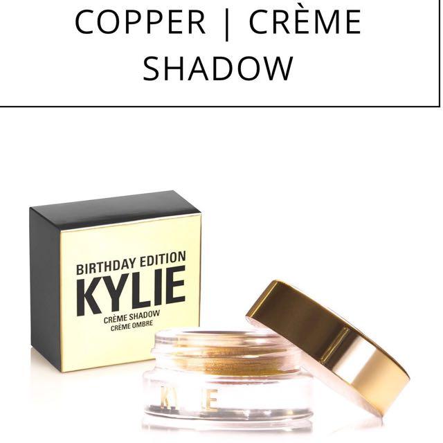 KYLIE [copper] Eye Shadow Birthday LIMITED EDITION