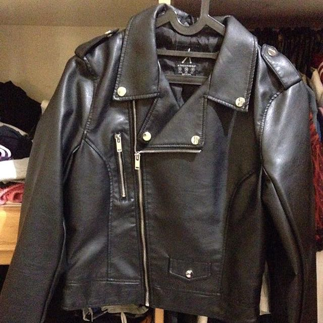 Leather Jacket by Atmosphere