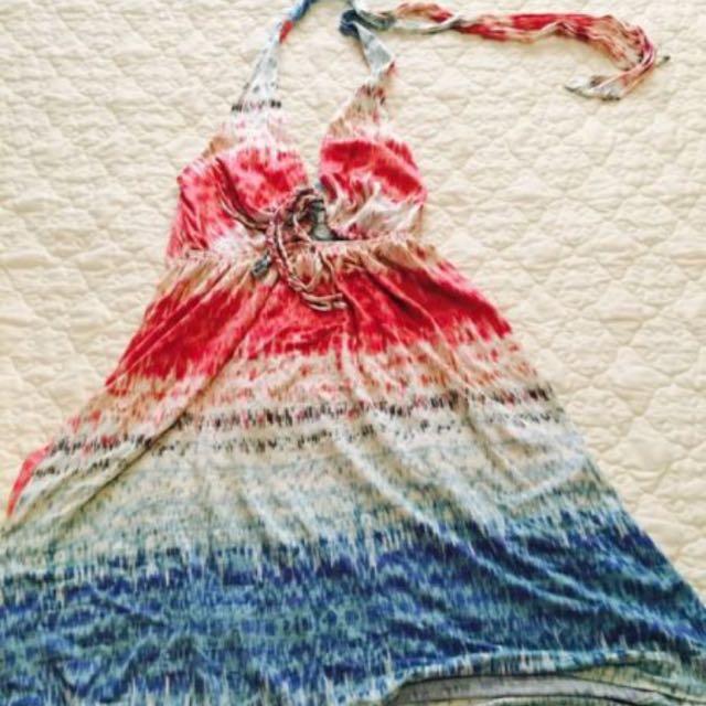 MARCIANO Multicoloured Hater Dress