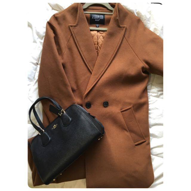 Midi Wool Trapeze Coat
