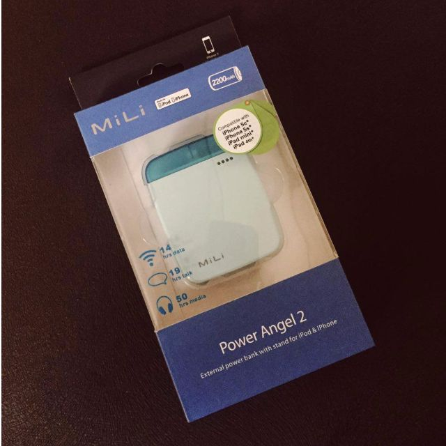 MILI Power Angel 2 ICE BLUE (iPhone Powerbank)