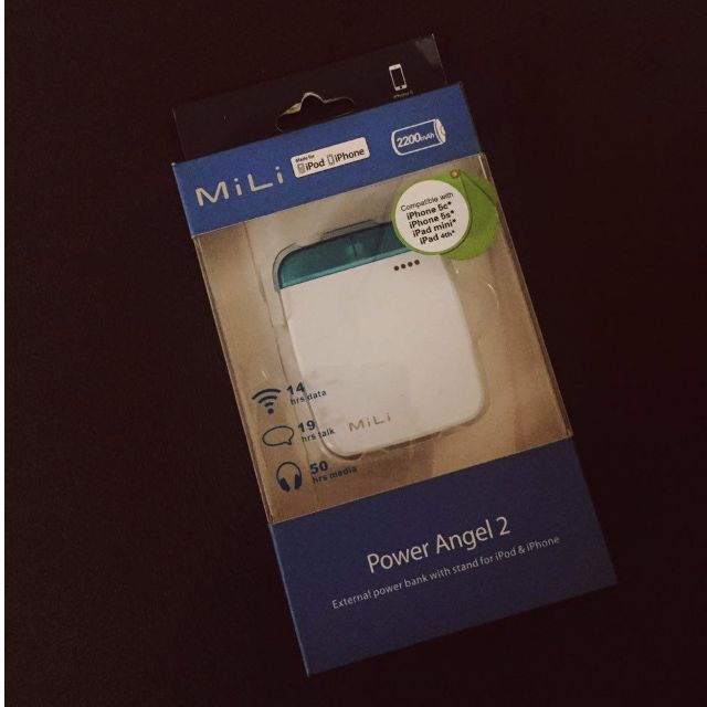 MILI Power Angel 2 WHITE (iPhone Powerbank)