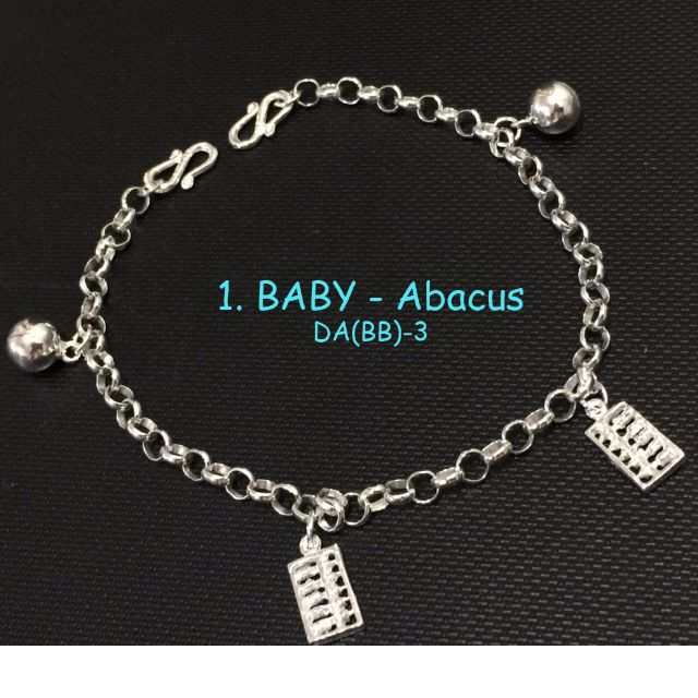 4e017d3d7 925 Silver Baby Anklet/ Bracelet 宝宝手/脚链, Babies & Kids, Babies Apparel on  Carousell
