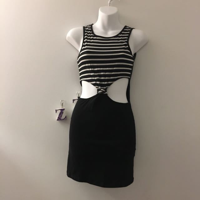 One Piece Cut Out Dress