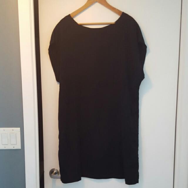Over-sized Black Dress