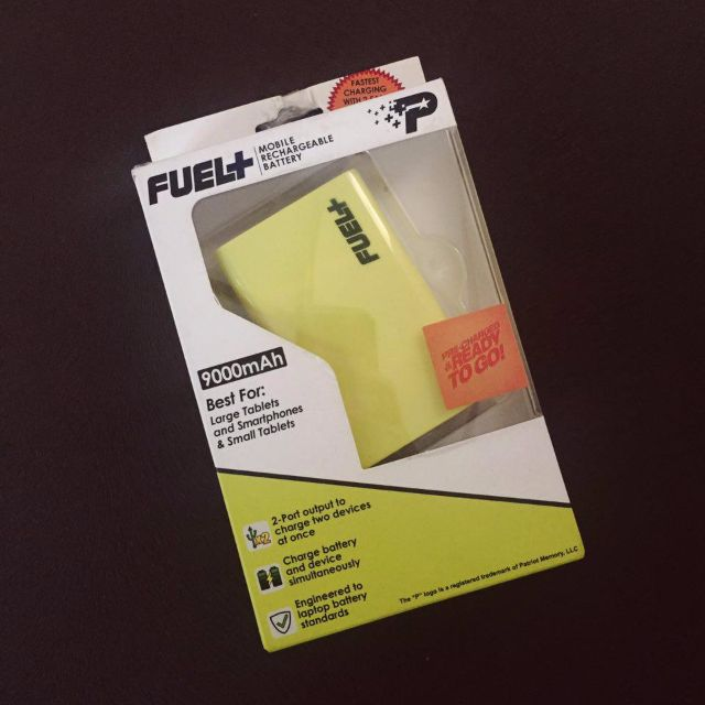PATRIOT Power Bank Fuel Active 9000mAh YELLOW