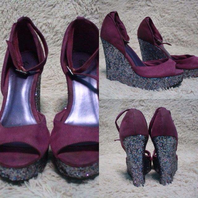 Payless Glittery Heels