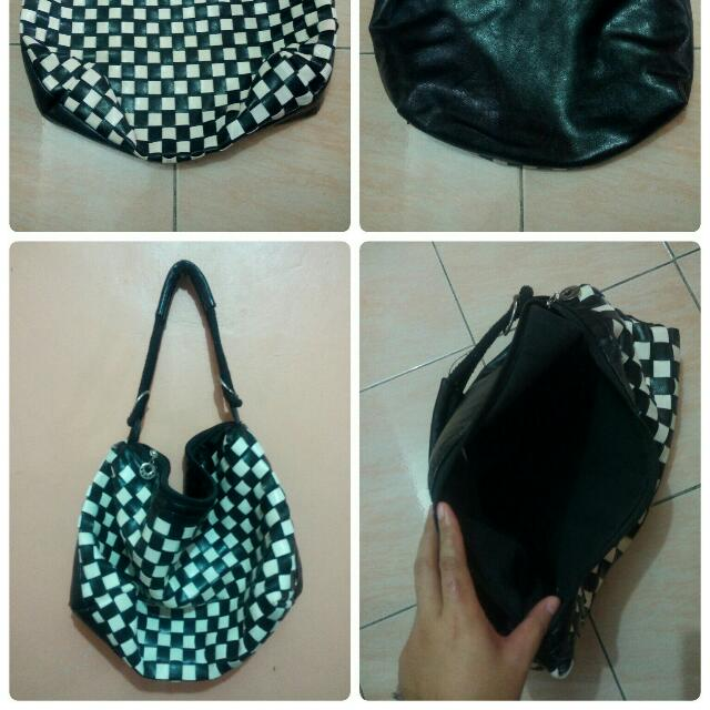Pure Leather Shoulder Bag