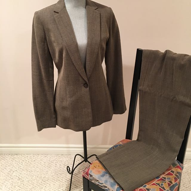 Ross Mayer Suit, Size 12 Pants And Size 10 Jacket