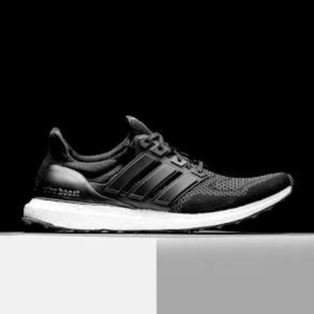 cheap for discount b52a3 ec334 Sepatu Adidas Ultra Boost M Black White S77417, Men's ...